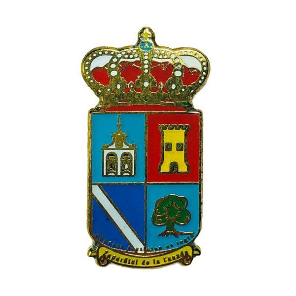 pin heraldico escudo zarpadiel de la canada
