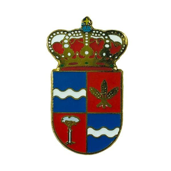 pin heraldico escudo zarzuela cuenca