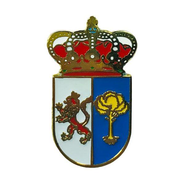 pin heraldico escudo zorita de la frontera