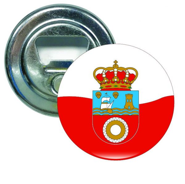 abridor redondo escudo cantabria