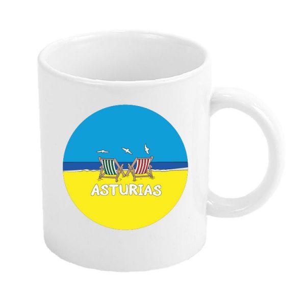 taza asturias playa