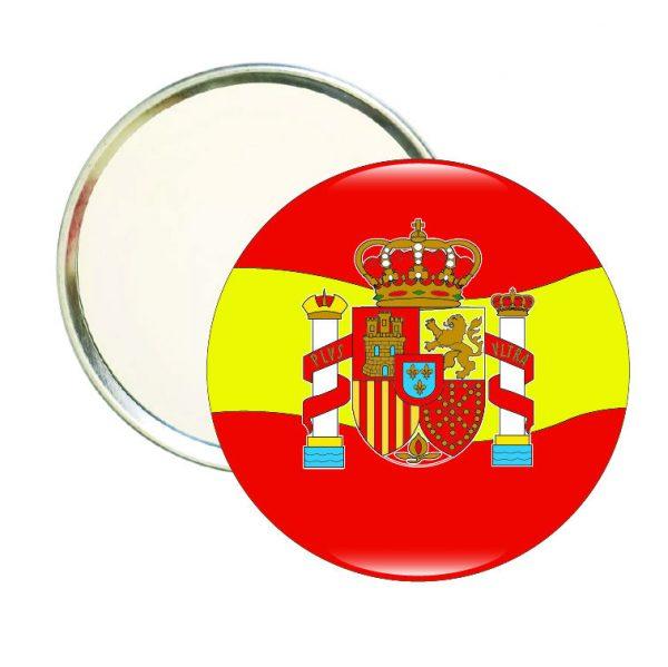 espejo redondo espana escudo