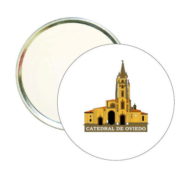 espejo redondo catedral de oviedo