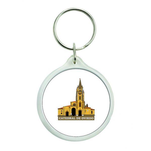 llavero redondo catedral de oviedo