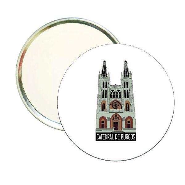 espejo redondo catedral de burgos
