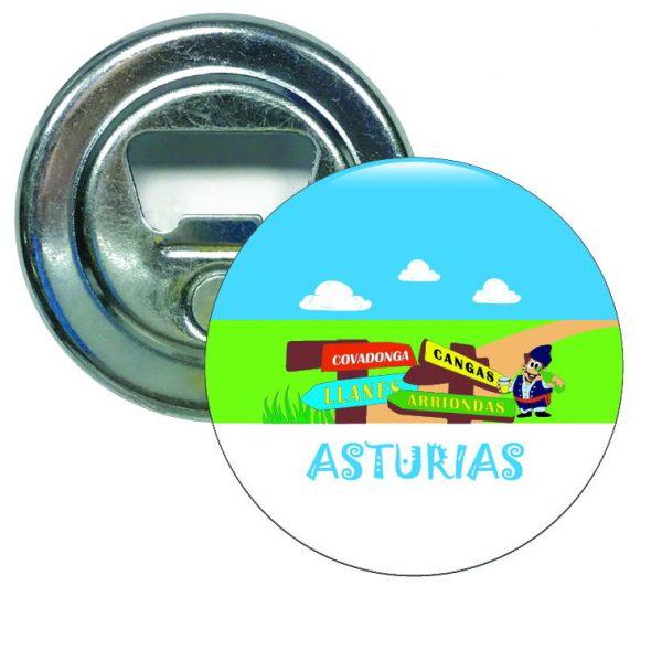 abridor redondo senales asturias