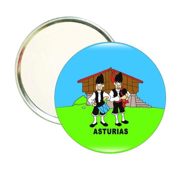espejo redondo asturianos horreo