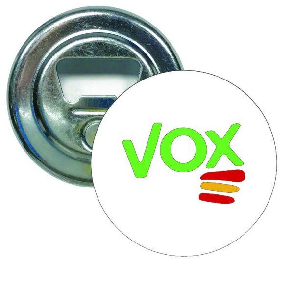 abridor redondo vox verde bandera espana