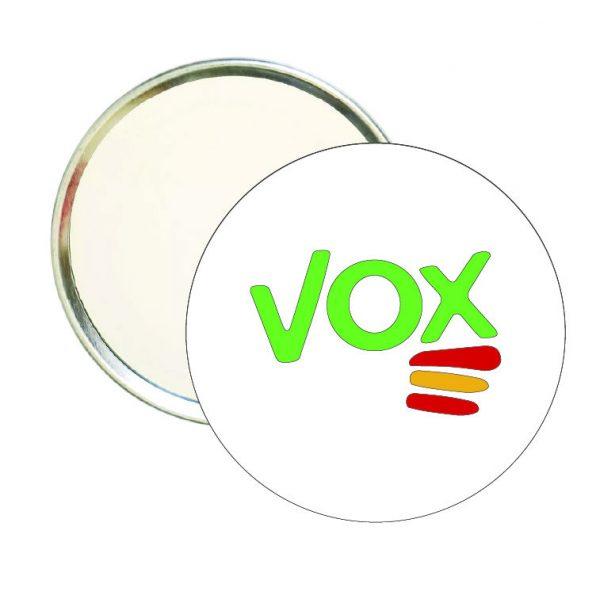espejo redondo vox verde bandera espana