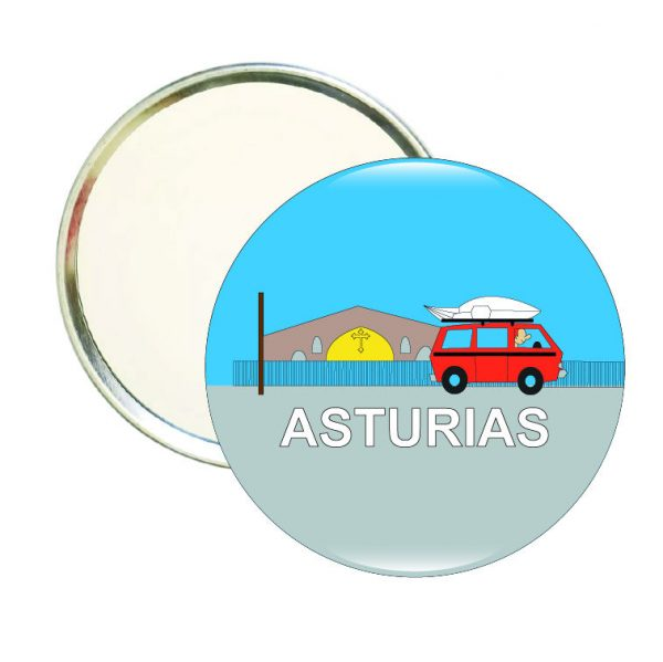 192 espejo redondo asturias furgoneta