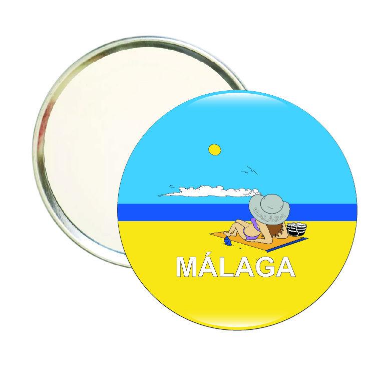 espejo redondo malaga playa