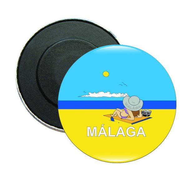 iman redondo malaga playa