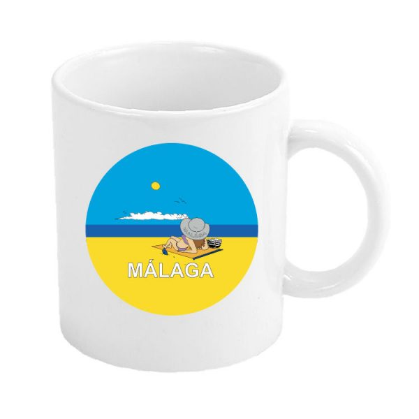 taza malaga playa