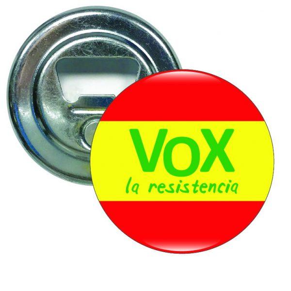abridor redondo vox la resistencia espana