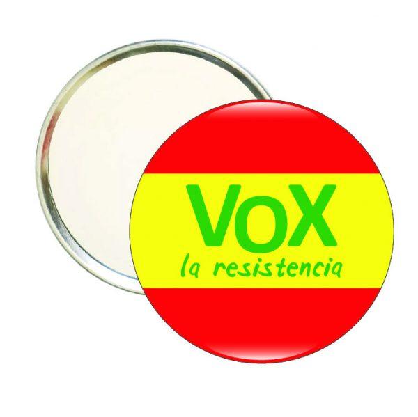 espejo redondo vox la resistencia espana