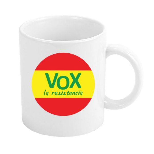 taza vox la resistencia espana