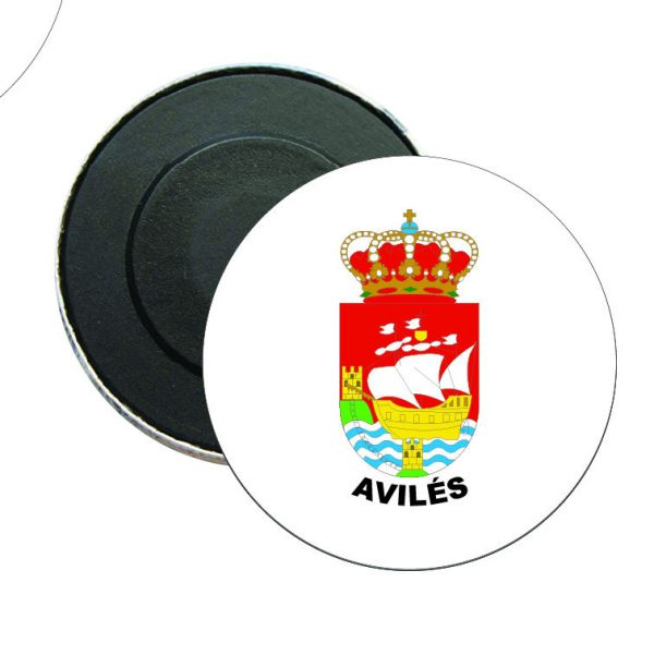 iman redondo escudo heraldico aviles