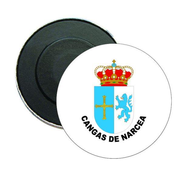 iman redondo escudo heraldico cangas de narcea