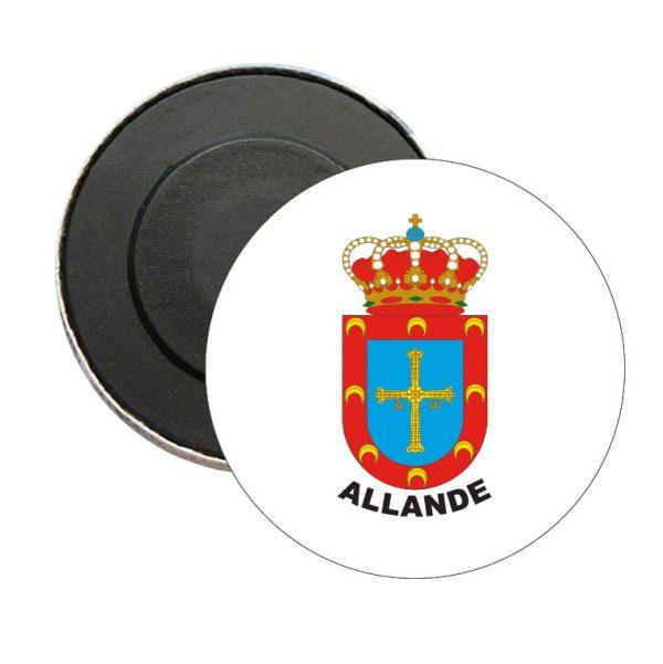 iman redondo escudo heraldico allande