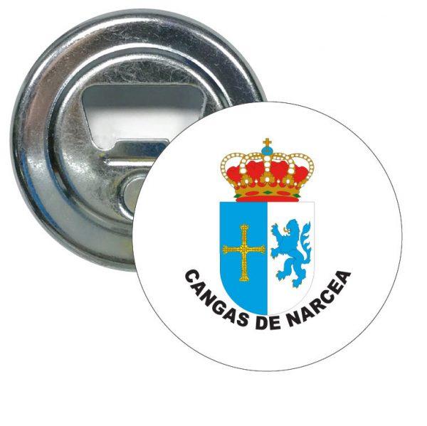 abridor redondo escudo heraldico cangas de narcea