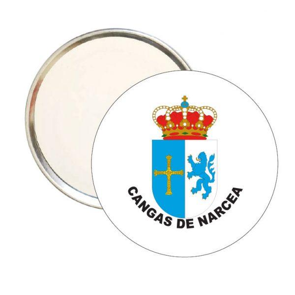 espejo redondo escudo heraldico cangas de narcea