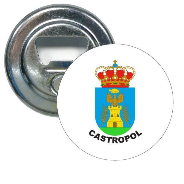 abridor redondo escudo heraldico castropol