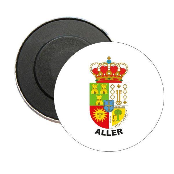 iman redondo escudo heraldico aller