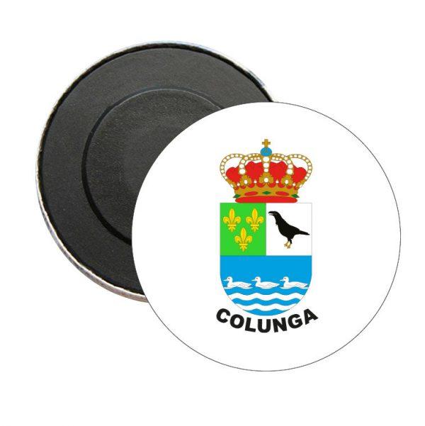 iman redondo escudo heraldico colunga