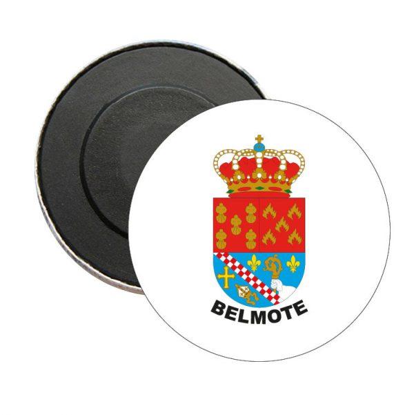 iman redondo escudo heraldico belmote