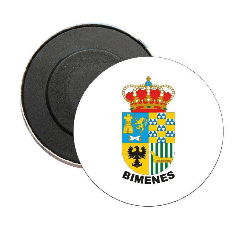 iman redondo escudo heraldico bimenes