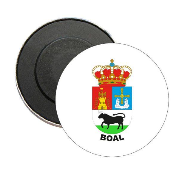 iman redondo escudo heraldico boal