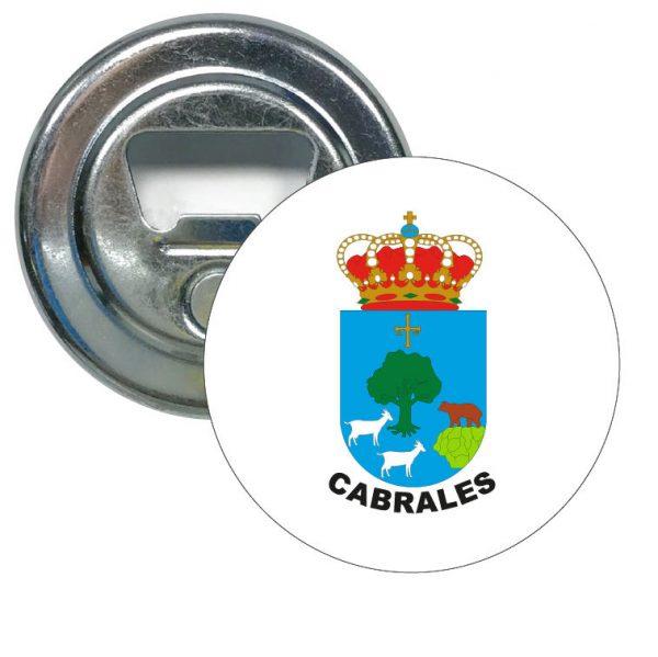 abridor redondo escudo heraldico cabrales