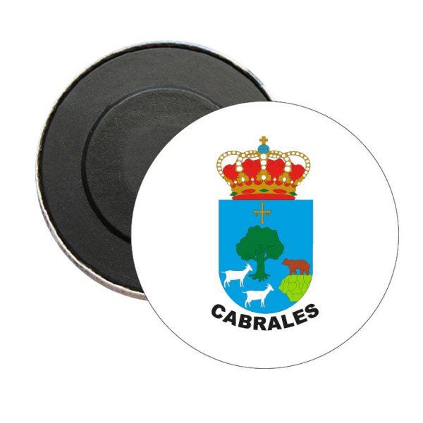 iman redondo escudo heraldico cabrales