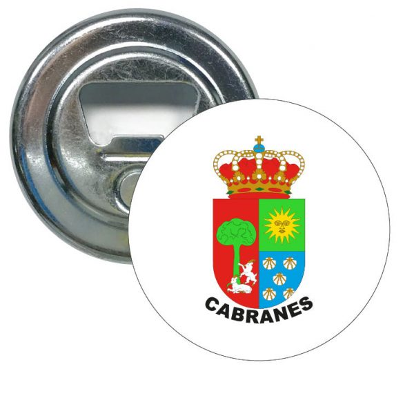 abridor redondo escudo heraldico cabranes