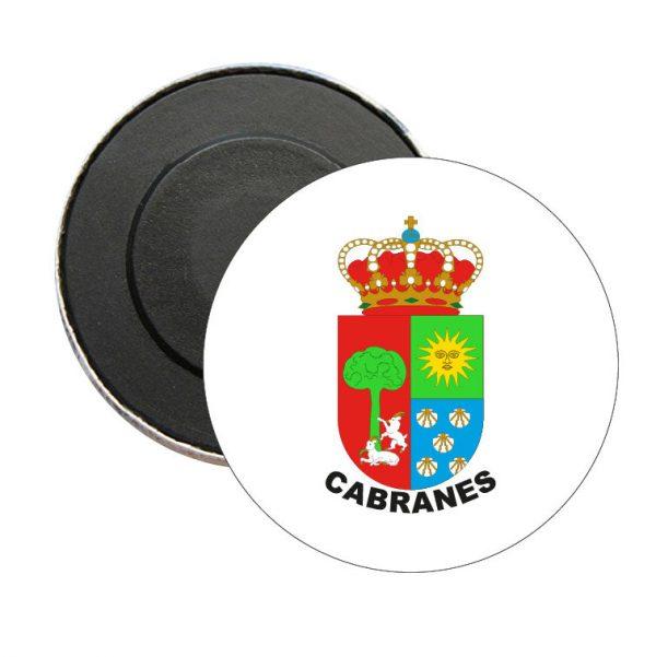 iman redondo escudo heraldico cabranes