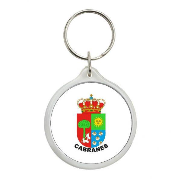 llavero redondo escudo heraldico cabranes
