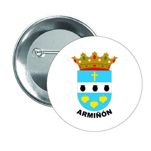 chapa escudo heraldico arminon