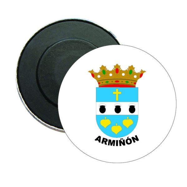 iman redondo escudo heraldico arminon
