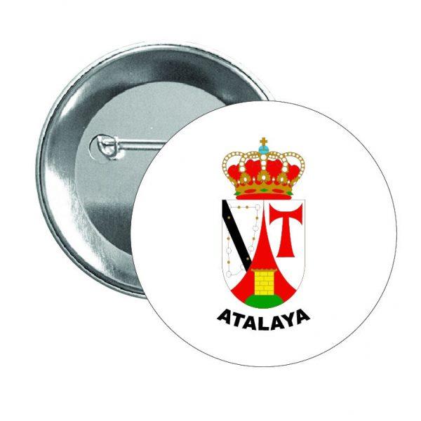 324 chapa escudo heraldico atalaya