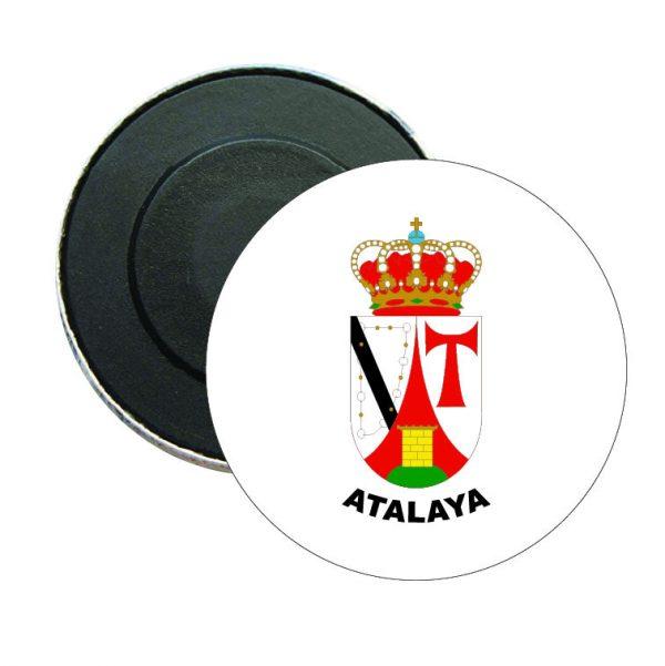 iman redondo escudo heraldico atalaya