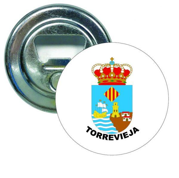 abridor redondo escudo heraldico torrevieja