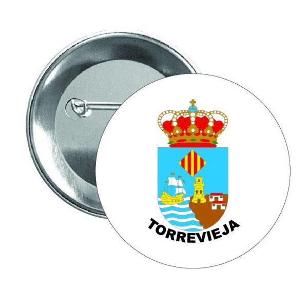 chapa escudo heraldico torrevieja