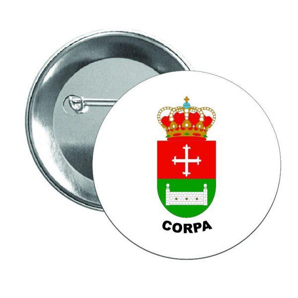 chapa escudo heraldico corpa