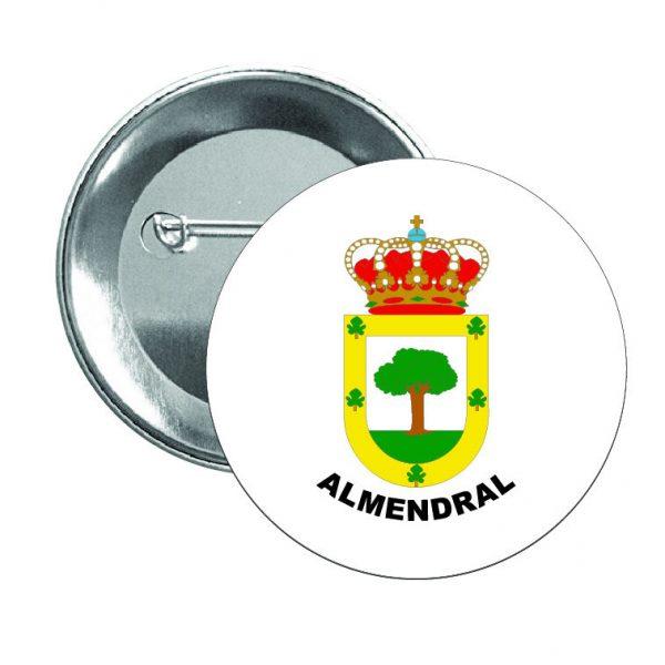 332 chapa escudo heraldico almendral