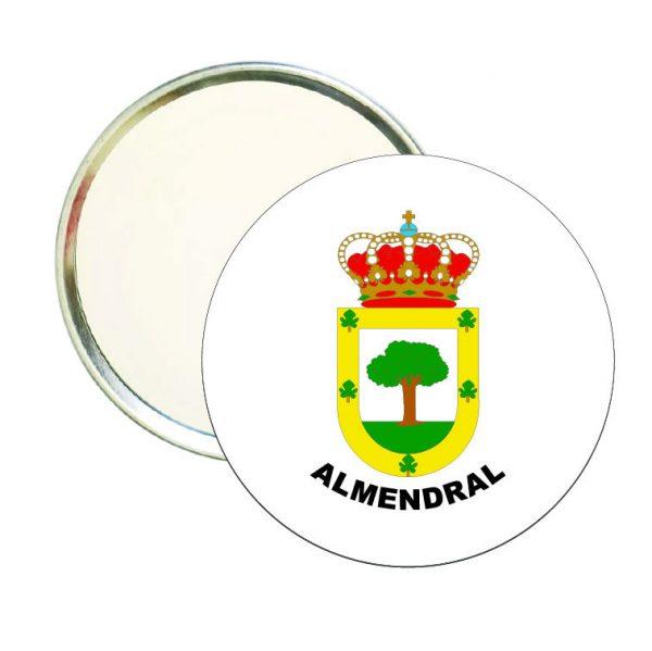 espejo redondo escudo heraldico almendral