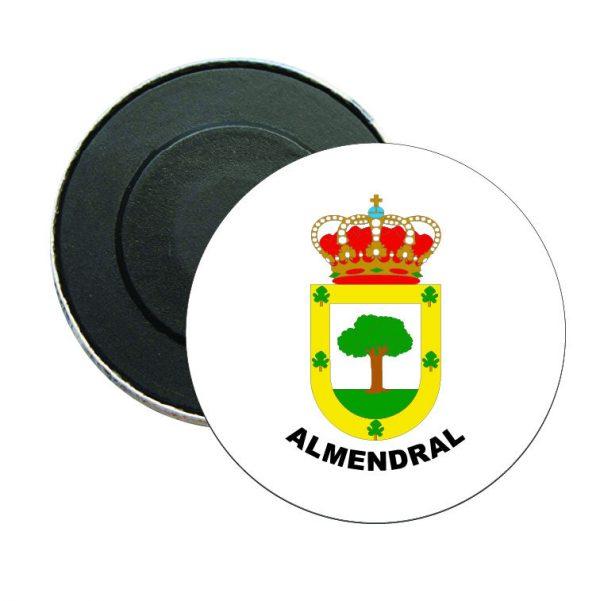 iman redondo escudo heraldico almendral