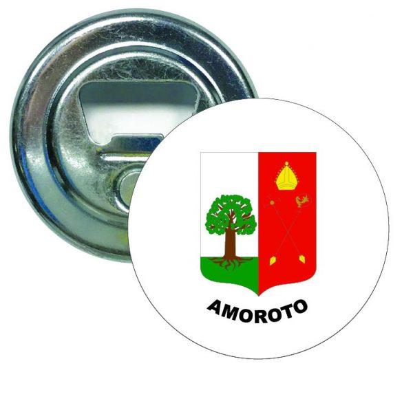 abridor redondo escudo heraldico amoroto