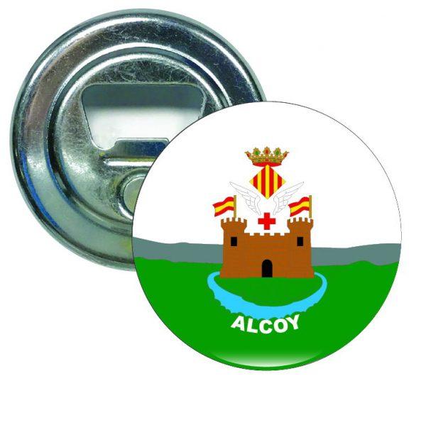 abridor redondo escudo heraldico alcoy