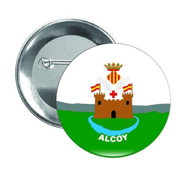 chapa escudo heraldico alcoy