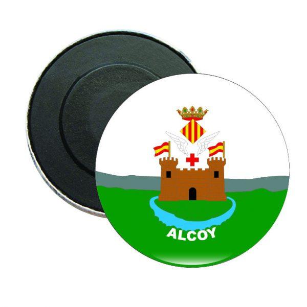 iman redondo escudo heraldico alcoy